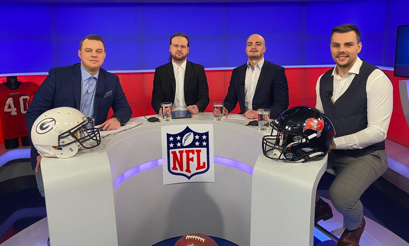 Český tým okolo NFL: Televizní studio | SportBiz